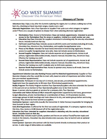 glossary of terms document image